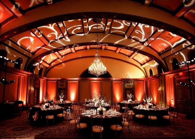 Corporate Event Lighting, Wedding Lighting, Gobo Pattern Wash, Las Vegas, San Diego, Los Angeles, Uplighting