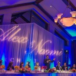 TPC Summerlin Wedding Gobo Monogram Wedding Lighting Las Vegas