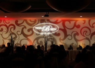 Corporate Event Lighting, Wedding Lighting, Gobo Pattern Wash, Las Vegas, San Diego, Los Angeles, Uplighting