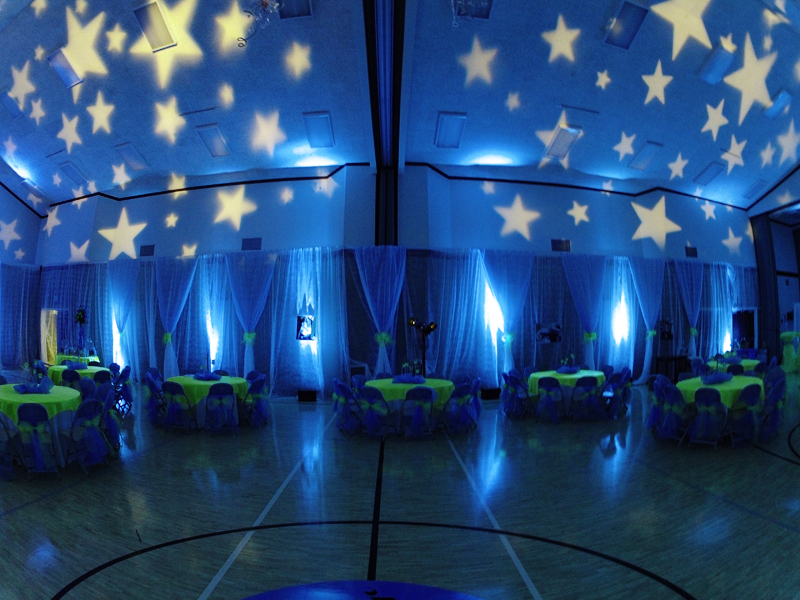 gobo pattern wash las vegas los angeles san diego wedding lighting