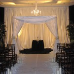 Wedding Drape Chuppah Rental Las Vegas Los Angeles Orange County San Diego Riverside