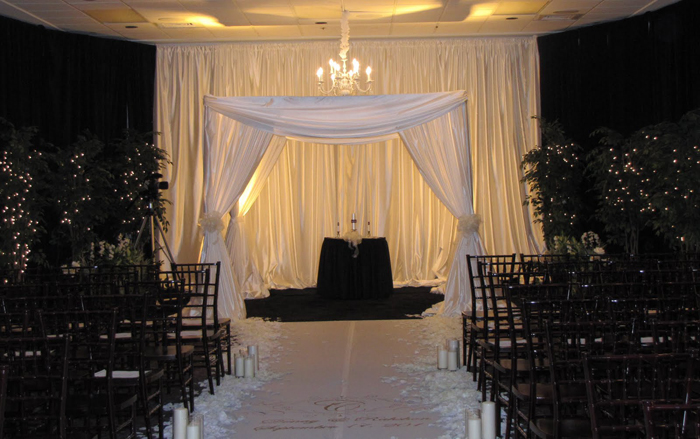 Wedding Drape Chuppah Las Vegas San Diego Los Angeles
