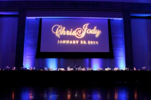 Event & Wedding Lighting Production - Uplighting, Gobo Pattern Wash Monogram, Wedding Backdrops, Los Angeles, San Diego, Las Vegas