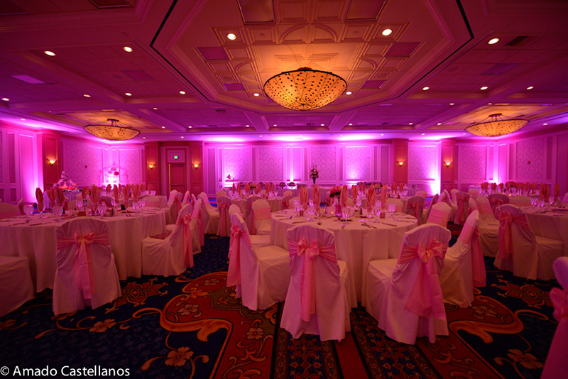 Wedding Uplighting Special 42500 Las Vegas San Diego Los Angeles