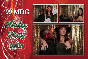 Holiday Party Event Corporate Event Photo Booth